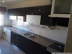 SENHOR FAZ TUDO - Faz tudo pelo seu lar !®: Instalação de uma cozinha Luxury Antrascite do Bri...