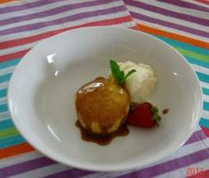 Recipe Golden Puddings with Butterscotch Sauce by sharon01 - Recipe of category Desserts & sweets