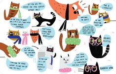 CAT WITH NO HAT - agata królak - design and illustration for children of all ages