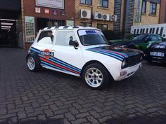 Mini Cooper Clubman, Mini Coopers, Classic Mini, Classic Cars, Mini Morris, Martini Racing, Morris Minor, Minis, Smart Car