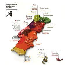 Portugal Regional Wine Map