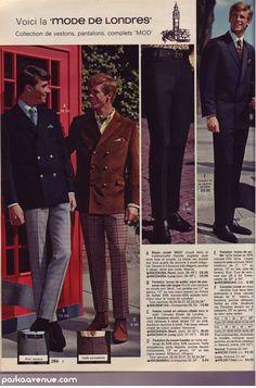 parkaavenue:    Mod Suit - London fashion  [New post] Mail-order Mod, circa 1967  parkaavenue.com
