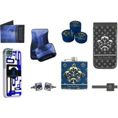 """Gifts for Men"" by lace9lives on Polyvore With designs ranging from modern to vintage and to match almost any colour scheme; find (or request directly from seller) matching products including: Christmas Stockings, Santa Hats, Tree Skirts and edible treats. All available at www.Zazzle.com/... #Christmas #holidays #gifts #giftsforhim #giftsformen"
