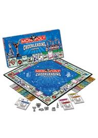 What a unique gift! Monopoly Cheerleading Edition  A must find for Dinner/Dance Raffle!!