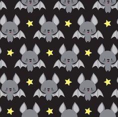 spookyshouseofhorror:  Tiled Bats