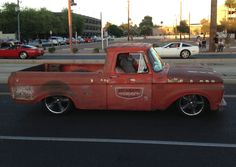 Unibody Ford bagged truck.