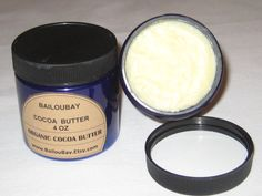 4 oz  COCOA BUTTER by Bailoubay on Etsy.