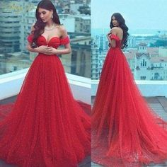 Charming Pearls Red Evening Dresses 2019 Long Off Shoulder Evening Gowns Lace-Up Elegant Formal Evening Dress Cheap Prom Dress Open Back Prom Dresses, Elegant Prom Dresses, Cheap Evening Dresses, Cheap Prom Dresses, Dress Formal, Off Shoulder Evening Gown, Lace Evening Gowns, Off Shoulder Bridesmaid Dress, Bridesmaid Dresses