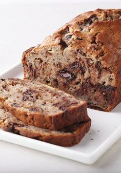Chocolate Chunk Walnut Banana Bread – Wow brunch party guests by welcoming them into your home with the sweet aromas of this bread recipe. It's great for making ahead and being ready for those busy mornings.