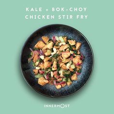 Kale, Bok-Choy + Chicken. That's dinner sorted. Only 98 problems to go. We launch in 4 weeks. Meanwhile, find pre-launch offers for our modern natural nutritional supplements on Indiegogo. Link in bio. . ☑️ #Chicken is a great source of #protein – building block of #skin, #muscle, #nails and #hair. ☑️ #Kale is rich in #Vitamins A, C, K and has more iron than the equivalent weight in steak ☑️ Bok-choy (#Chinese white #cabbage) is packed with #antioxidants and regarded as one of the world's…