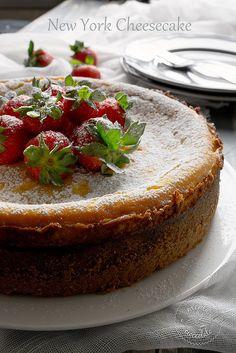 Menta e Cioccolato: New York Cheesecake troppo buona per non provarla!!