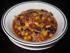 Yeast Free Crockpot Santa Fe Chicken for the Wild Rose Cleanse
