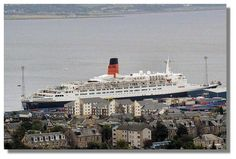 QE2 at Greenock, Inverclyde I Was at the launch of this amazing ship! My ancestors Include many ship builders.