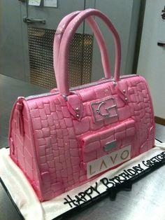 Designer Purse Cake by Gimme Some Sugar (vegas!), via Flickr