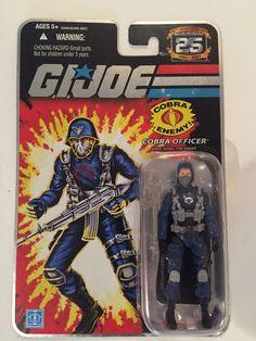 G.I. Joe Cobra Officer The Enemy Action Figure 2007 NRFB 25th Anniversary #Hasbro