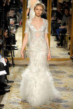 Marchesa Fall 2012 Ready-to-Wear Fashion Show - Morgane Warnier
