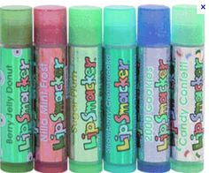 I was obsessed with lip smackers from kindergarten all the way up to senior year in high school .lol