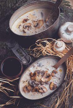 Mushroom soup from LOTR  #recipes, #lotr, #food