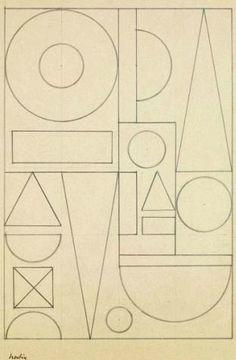 Auguste Herbin, Composition Géométrique