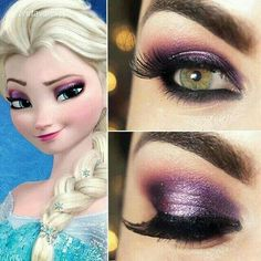 Get your Disney on with Younique Pigments and 3D mascara. ALL NATURAL! Order online https://www.youniqueproducts.com/PamelaHolland/products#.U9Gh2uNdV2E