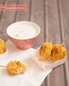 Nuggets de pollo al horno o… ¡polos de pollo!