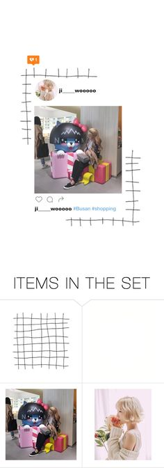 """""""Jiwoo _ Busan iNSTAGRAM"""" by purrfectas ❤ liked on Polyvore featuring art"""