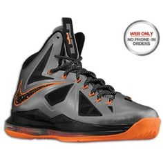 Nike Lebron X - Men's - Basketball - Shoes - Seaweed/Atomic Green/Hasta