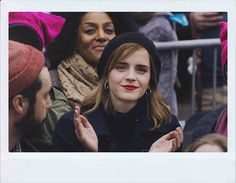 Emma was at the #WomensMarch this past Saturday!