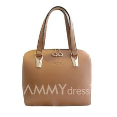 $18.36 Elegant Women's Shoulder Bag With Metal and PU Leather Design