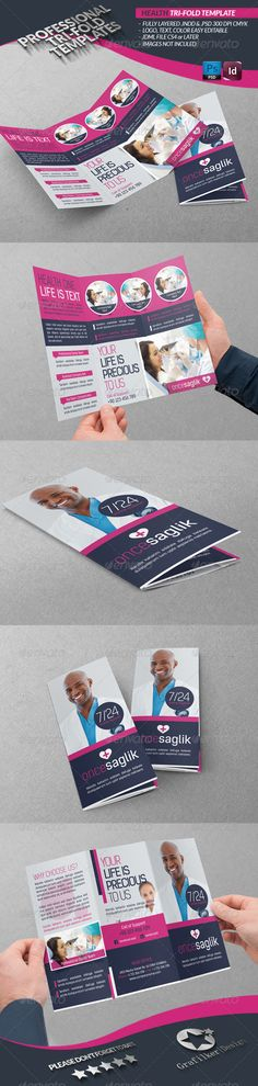 the 7 best tri fold brochure template images on pinterest in 2018