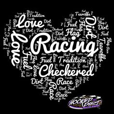 Want this design on a shirt? We carry this now on black&pink v-neck ladies tees, hoodies, youth, crew neck long sleeve. Get your racing apparel today! Racing Quotes, Nascar Quotes, My Champion, Sprint Cars, Dirt Track Racing, American Sports, Karting, Ford Gt, Checkered Flag