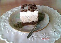 (2) Habkönnyű gesztenyés kocka | Fehér Katica receptje - Cookpad receptek Poppy Cake, Cakes And More, Tiramisu, Food To Make, Deserts, Food And Drink, Pudding, Sweets, Cookies