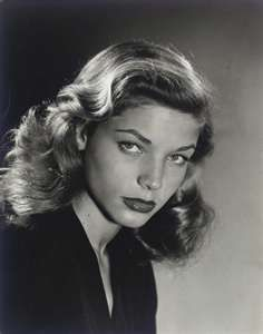 """hollywood-portraits: """"Lauren Bacall photographed by Philippe Halsman, """" Old Hollywood Glamour, Golden Age Of Hollywood, Vintage Hollywood, Hollywood Stars, Classic Hollywood, Hollywood Lights, Humphrey Bogart, Lauren Bacall, Classic Actresses"""