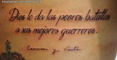 Tatuaje hecho por Cristhian Chevez de Barcelona (España). Si quieres ponerte en contacto con él para un tatuaje/diseño o ver más trabajos suyos visita su perfil: https://www.zonatattoos.com/tattoosblack Si quieres ver más tatuajes de frases visita este otro enlace: https://www.zonatattoos.com/tag/206/tatuajes-con-frases Más sobre la foto: https://www.zonatattoos.com/tatuaje.php?tatuaje=107905