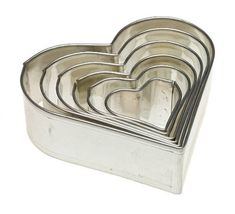 Kaiser Bakeware Heart Cookie Cutter Set of 6 -- You can get additional details at the image link.