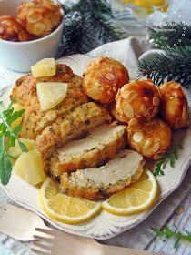Az otthon ízei: Ananászbundás csirkemell mandulás burgonyagolyókkal Chicken, Meat, Food, Hoods, Meals, Kai