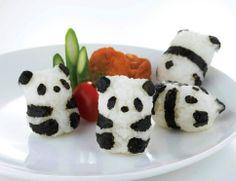 Hacer estos panditas de arroz quizá no es sencillo, pero vale la pena por ver las sonrisas de todos. #excelenciaip