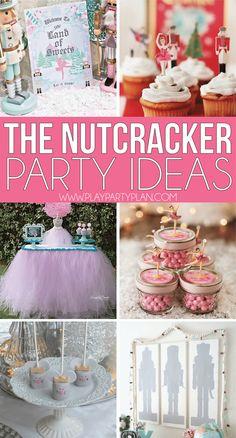 Dance Party Birthday, Ballerina Birthday Parties, Ballerina Party, 9th Birthday, Circus Birthday, Nutcracker Crafts, Nutcracker Christmas Decorations, Christmas Party Ideas For Teens, Adult Christmas Party