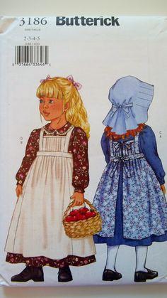 Butterick 4287 BOYS GIRLS Scarecrow Costume Pattern UNCUT SZ 7-14 NEW