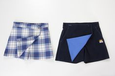 La falda pantalón de Camacho Uniformes Escolares otorga una mayor movilidad y comodidad a las niñas en su día a día escolar