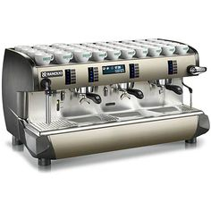Great ways to make authentic Italian coffee and understand the Italian culture of espresso cappuccino and more! Commercial Espresso Machine, Espresso Machine Reviews, Cappuccino Maker, Cappuccino Machine, Espresso Maker, Coffee Maker, Cappuccino Coffee, My Coffee Shop, Products