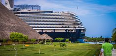 2014 - Mexico - Puerto Chiapas - Port grounds. Cancun continues being the No. 1 top place when it comes��_