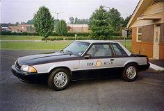 Old patrol car