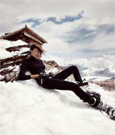 Daria Werbowy in H&M