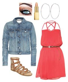 Haley James Scott Inspired Outfit by daniellakresovic on Polyvore featuring Rare London, rag & bone, River Island and AERIN