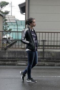 www.lazyobsession.com / #casual #chic #nike #Adidas