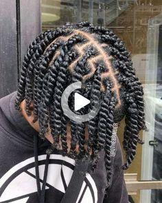 30 Two Strand Twist Mens Braids Hairstyles, Black Men Hairstyles, Kids Braided Hairstyles, Indian Hairstyles, Natural Hair Men, Natural Hair Twists, Natural Hair Styles, Braid Styles For Men, Short Hair Styles Easy