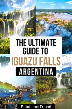 The Ultimate Guide to Iguazu Falls from both sides! This is the complete guide to visiting Iguazu Falls in Argentina Visit Argentina, Argentina Travel, Peru Travel, Travel Tips, Travel Hacks, Hawaii Travel, Travel Essentials, Italy Travel, South America Destinations