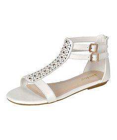 Love this White Haile Sandal on #zulily! #zulilyfinds