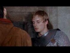 Merlin and Arthur - Merlin Slaps Arthur XD